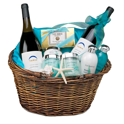 California Dreaming Wine Country SPA Gift Basket