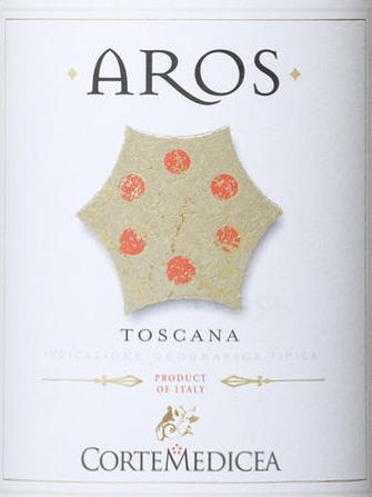 2014 Bollina Aros Toscana Rosso Corte Medicea