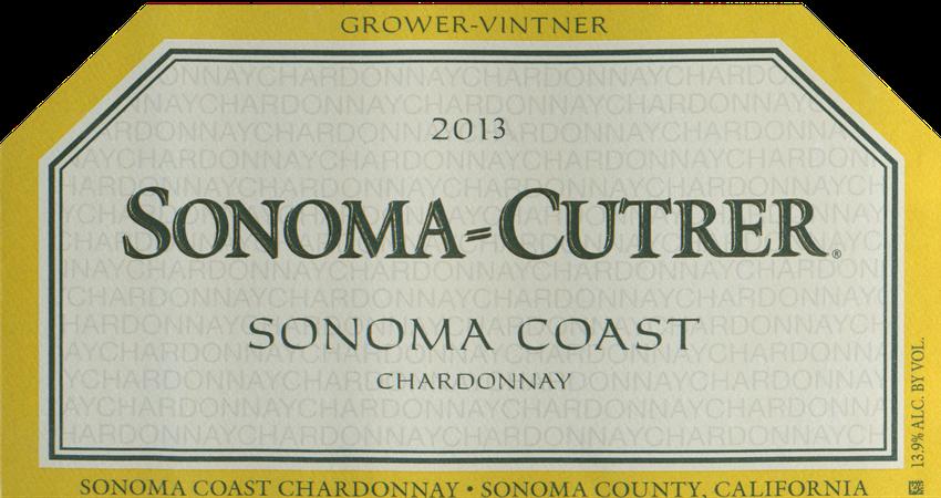 2013 Sonoma Cutrer Sonoma Coast Chardonnay