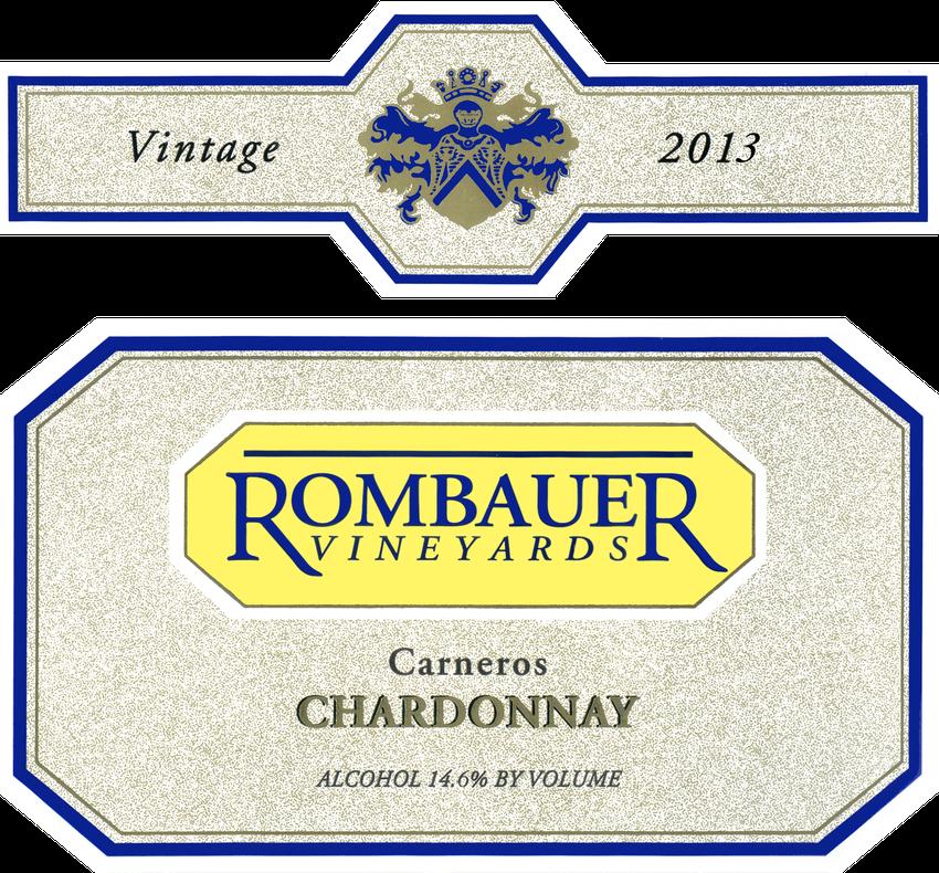 2013 Rombauer Carneros Chardonnay Half Bottle