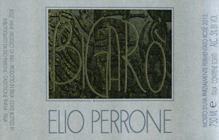 2013 Elio Perrone Bigaro