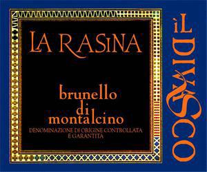 2007 La Rasina Il Divasco Brunello Di Montalcino