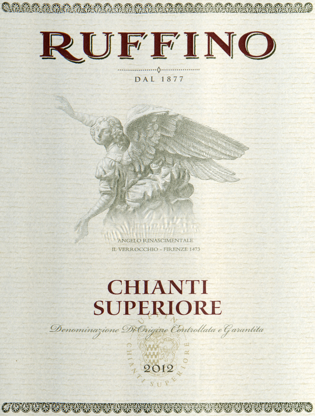 2012 Ruffino Chianti Superiore
