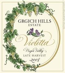 2009 Grgich Hills Estate 'violetta' Late Harvest Napa Valley