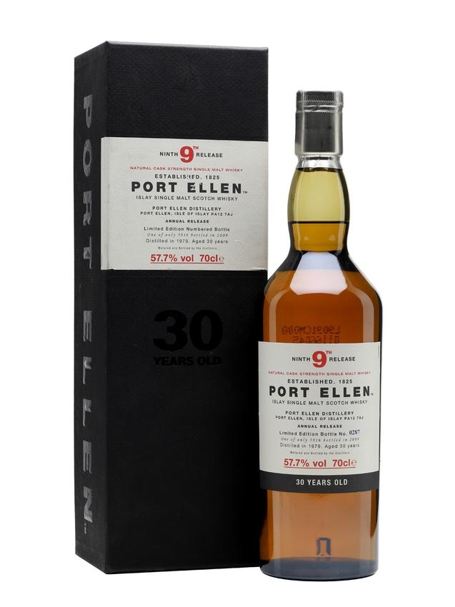 Port Ellen 1979 30 Year Old 9th Release (2009)