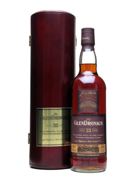 Glendronach 33 Year Old Oloroso Sherry Cask