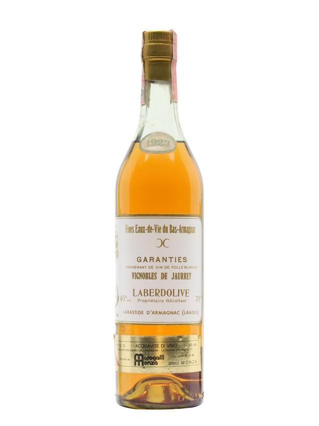 Vignobles de Jaurrey 1923 Armagnac Laberdolive