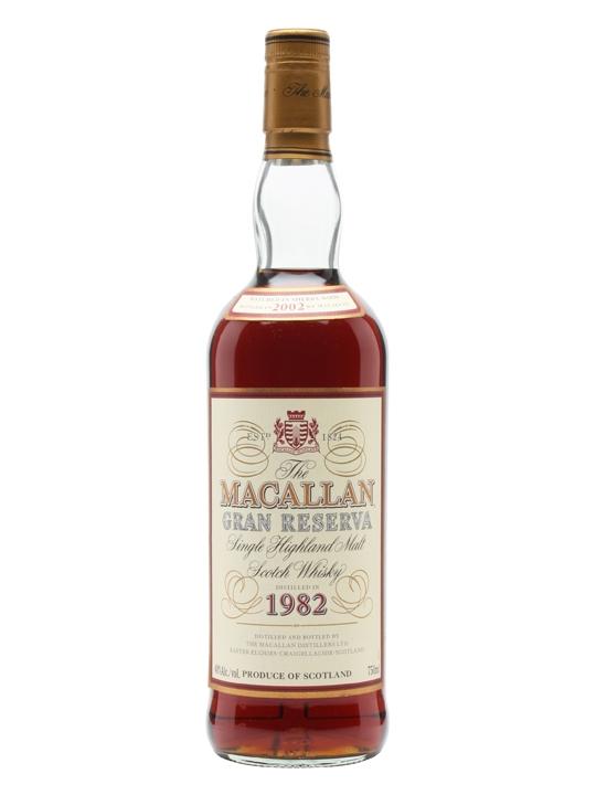 Macallan 1982 Gran Reserva