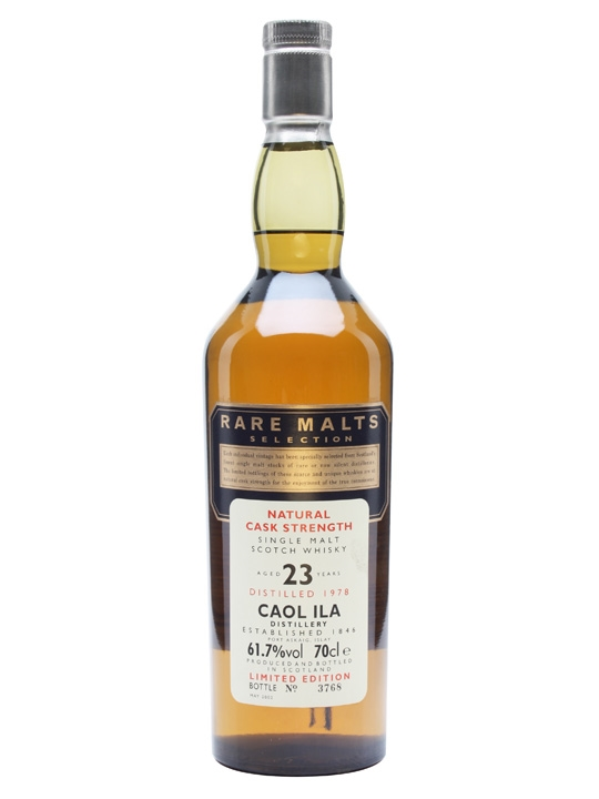 Caol Ila 1978 23 Year Old Rare Malts