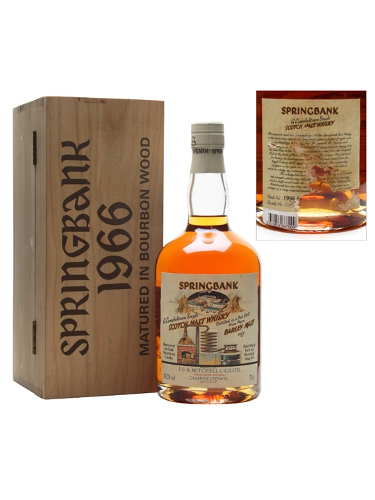 Springbank 1966 Local Barley Cask #500