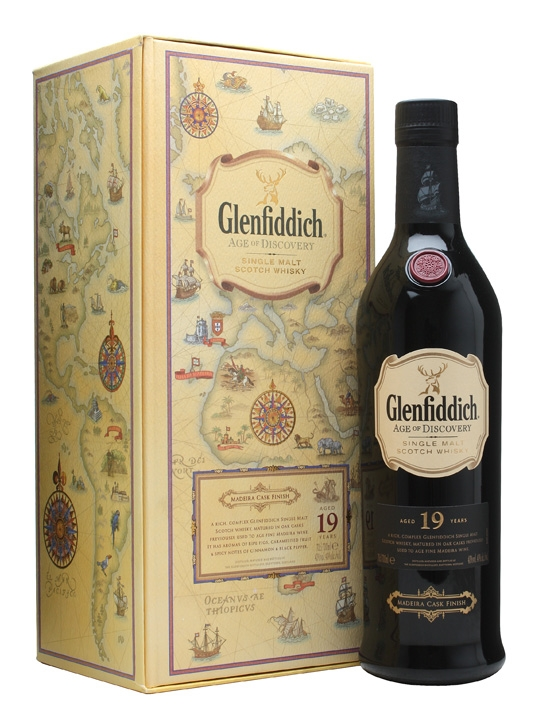 Glenfiddich 19 Year Old Age of Discovery Madeira