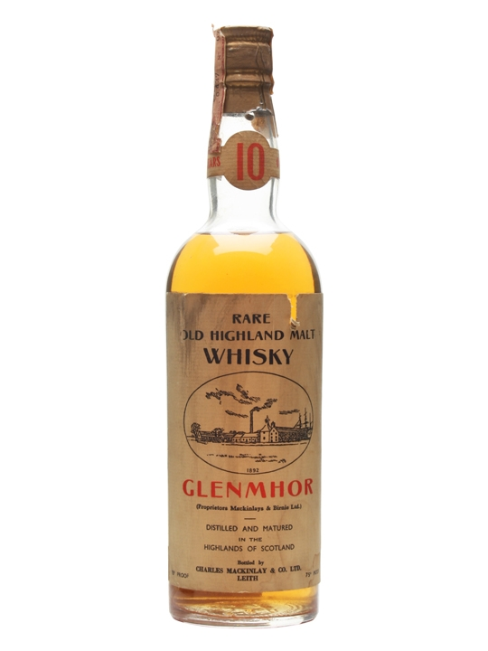 Glen Mhor 10 Year Old Bot.1960s