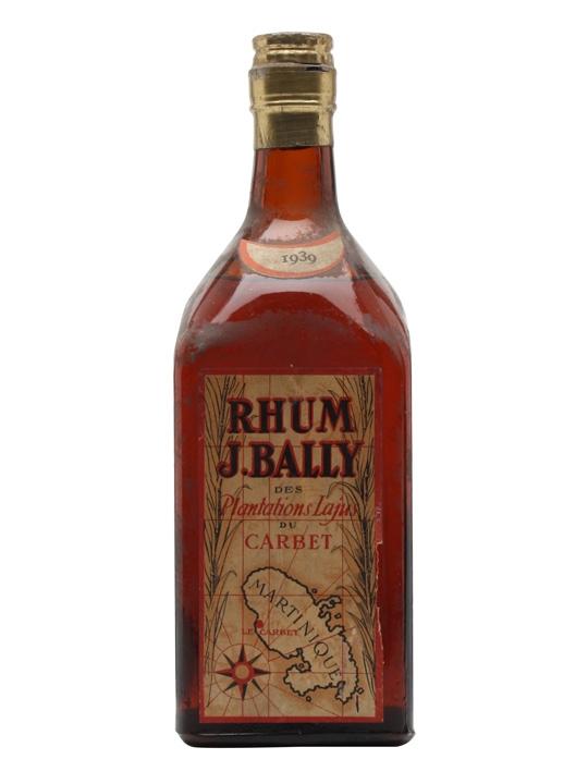J. Bally Rhum 1939
