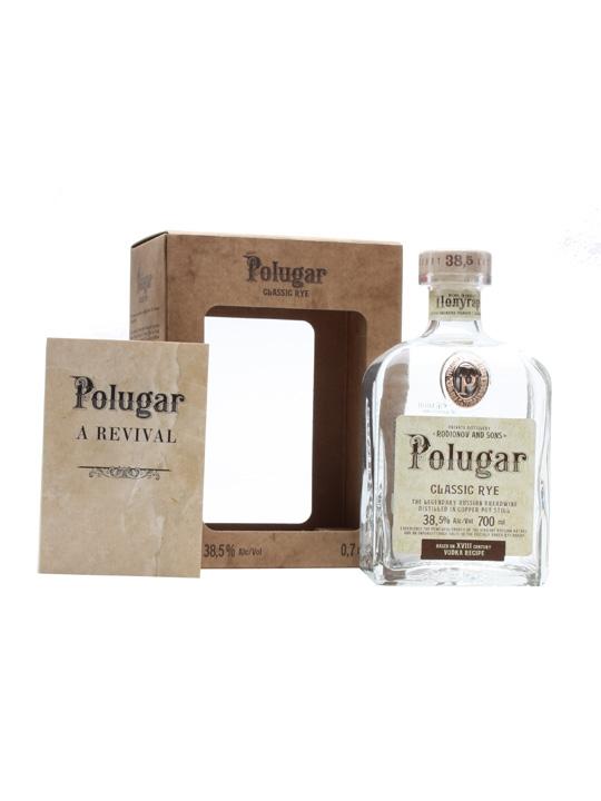 Polugar Classic Rye Vodka