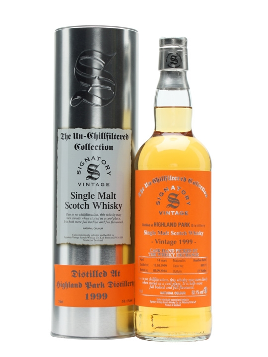 Highland Park 1999 14 Year Old Signatory for TWE