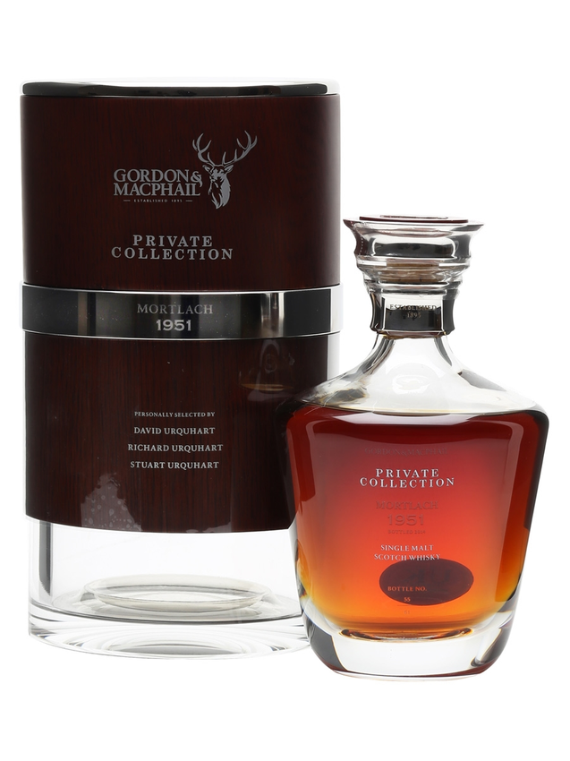 Mortlach 1951 63 Year Old G&M Private Collection Ultra