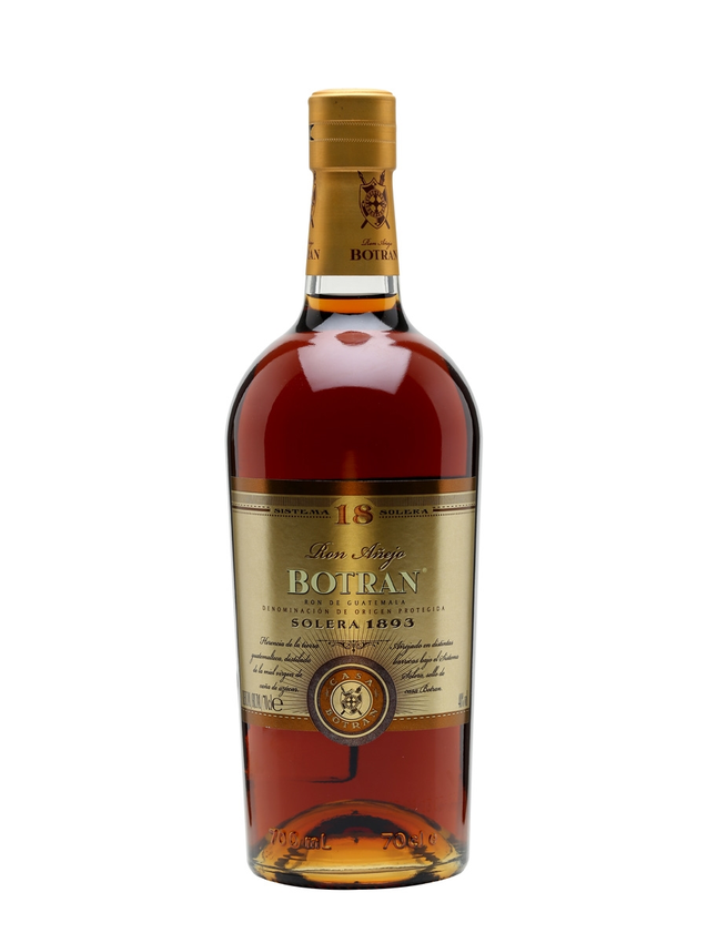 Botran 18 Anejo Rum Solera 1893