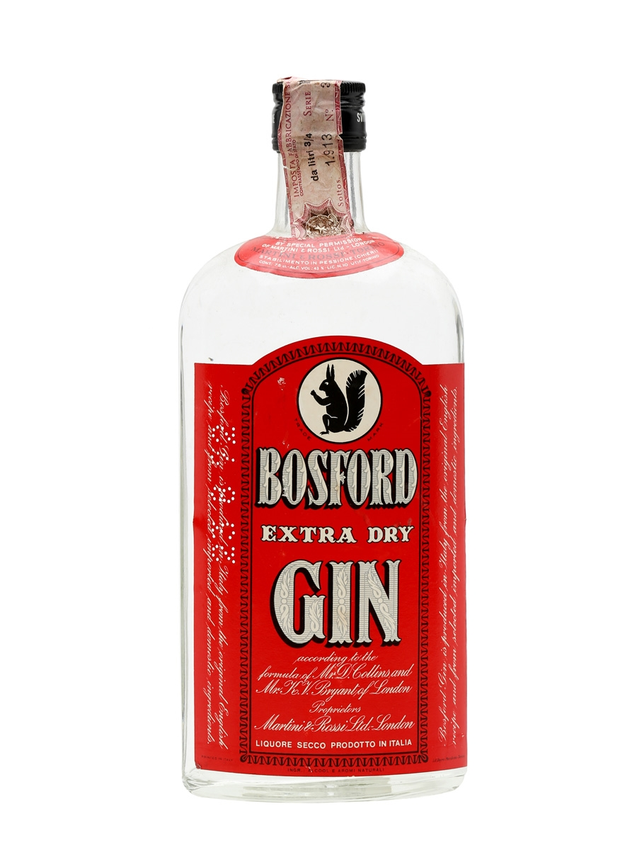 Bosford Extra Dry Gin Bot.1970s