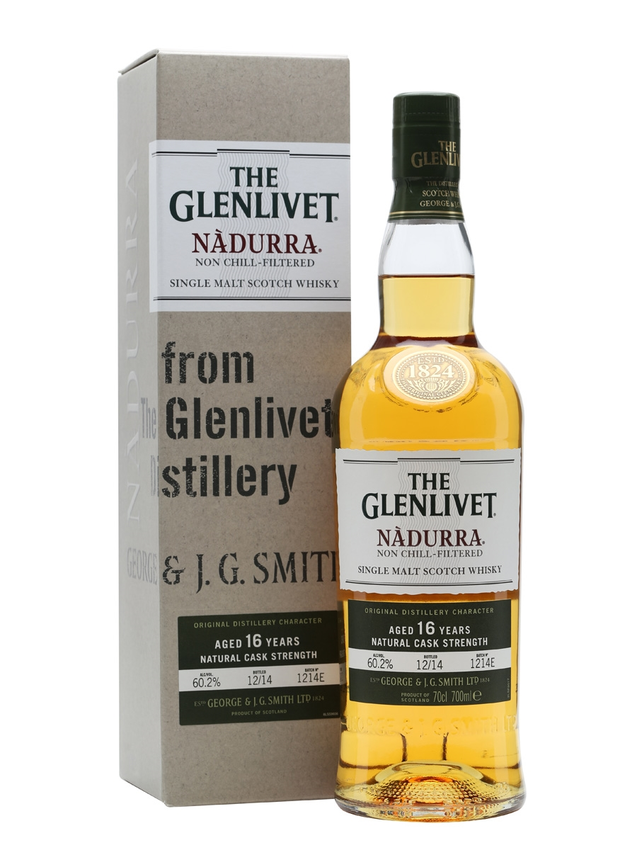 Glenlivet Nadurra 16 Year Old Batch 1214E