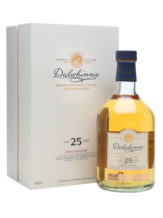 Dalwhinnie 1989 25 Year Old Special Releases 2015
