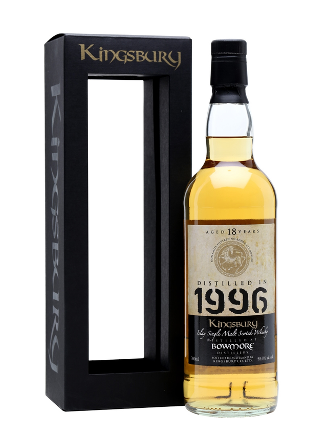 Bowmore 1996 18 Year Old Cask #2787 Kingsbury