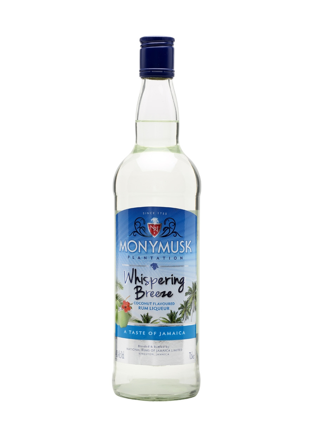 Monymusk Whispering Breeze Coconut Rum Liqueur