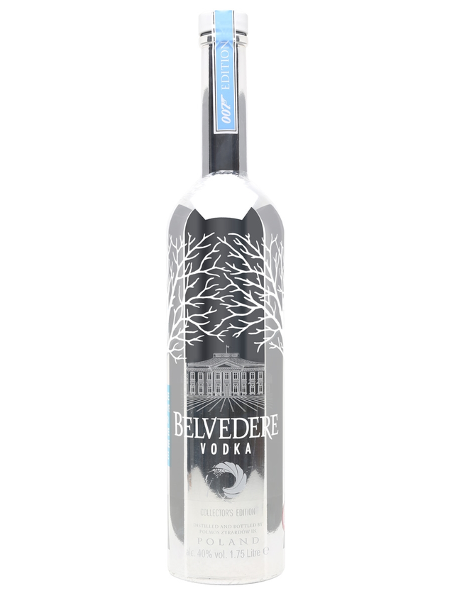 Belvedere Vodka 007 Silver Sabre Light Up Magnum