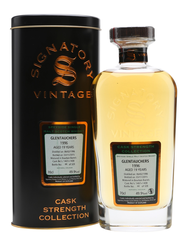 Glentauchers 1996 19 Year Old Signatory
