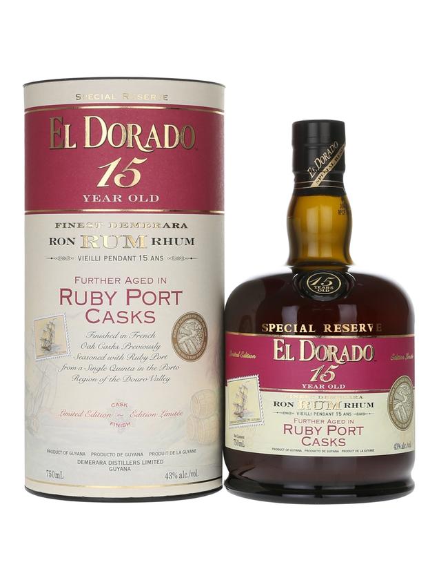 El Dorado 15 Year Old Ruby Port Finish