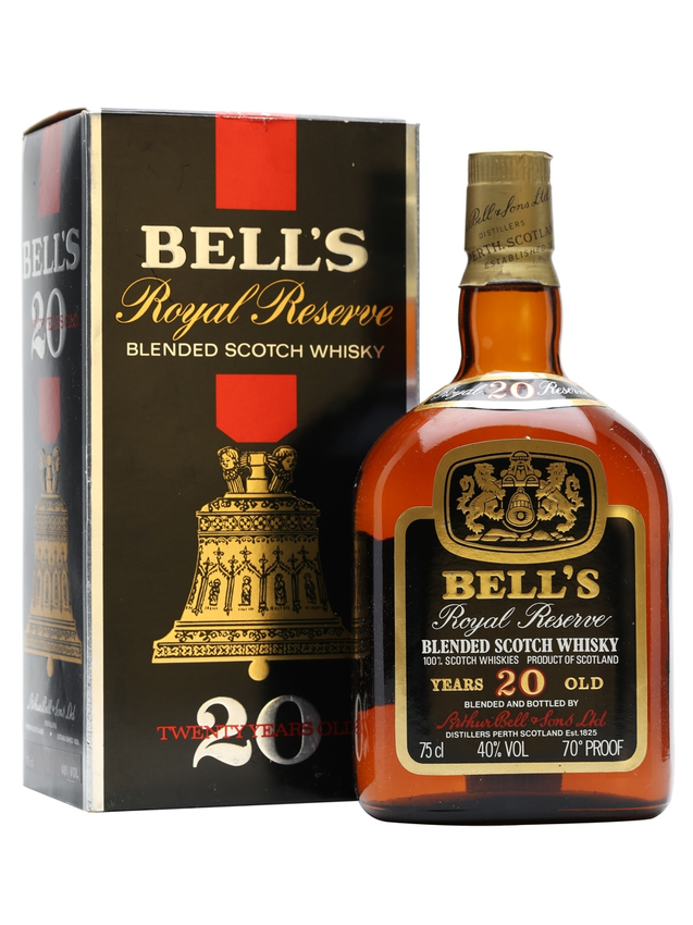 Bell's Royal Reserve 20 Year Old Bot.1980s