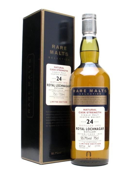 Royal Lochnagar 1974 24 Year Old Rare Malts