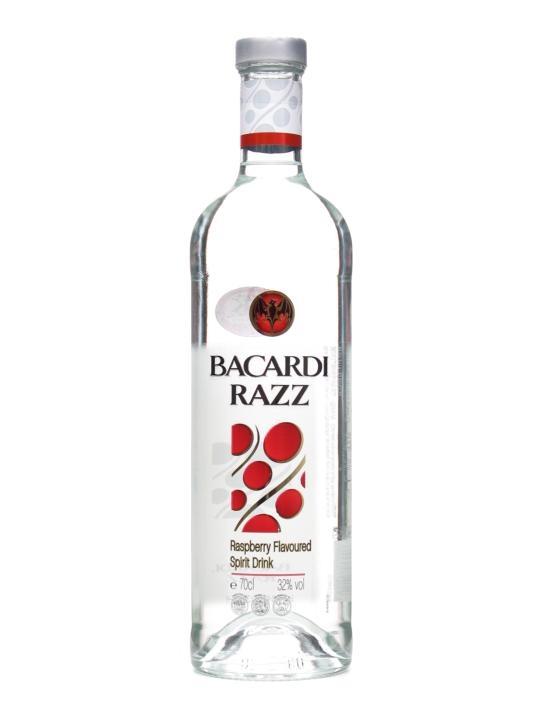 Bacardi Razz (Raspberry) Spirit