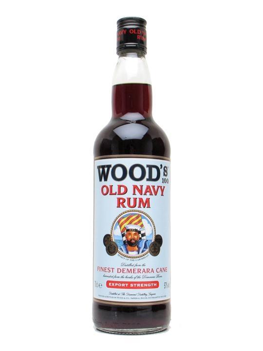 Wood's 100 Navy Rum
