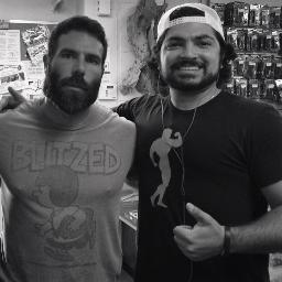 With       Dan Bilzerian      at a Gun Shop in       Camarillo, California      .