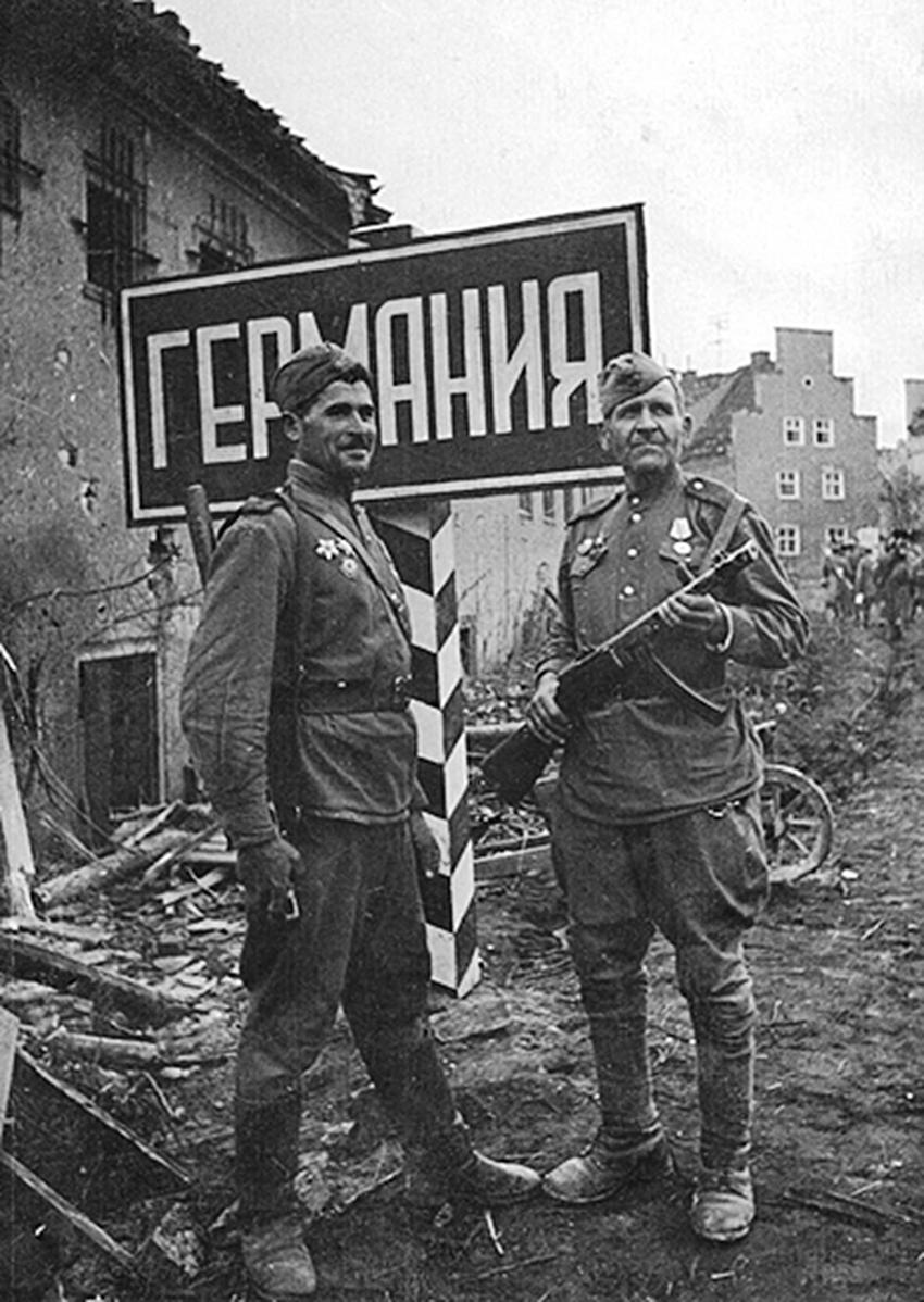 Великая страна СССР, РККА вышли на границу с Германией