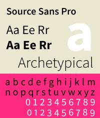 Source Sans Pro wiki, Source Sans Pro history, Source Sans Pro news