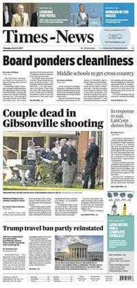 Times-News (Burlington, North Carolina) wiki, Times-News (Burlington, North Carolina) history, Times-News (Burlington, North Carolina) news