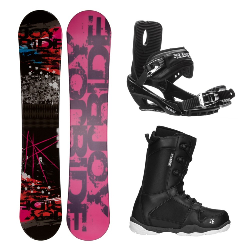 Joyride Picture R ST-1 Complete Snowboard Package