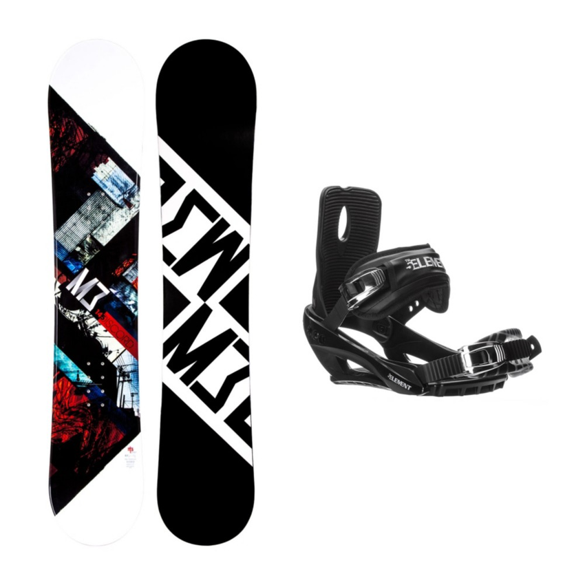 Millenium 3 Discord Stealth 3 Snowboard and Binding Package