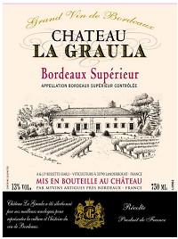 Chateau La Graula Bordeaux Superieur 2012