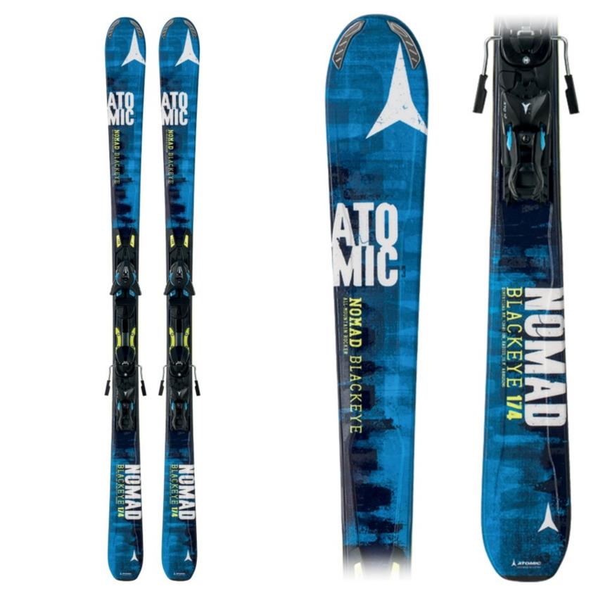 Atomic Nomad Blackeye Skis with XTO 12 Bindings