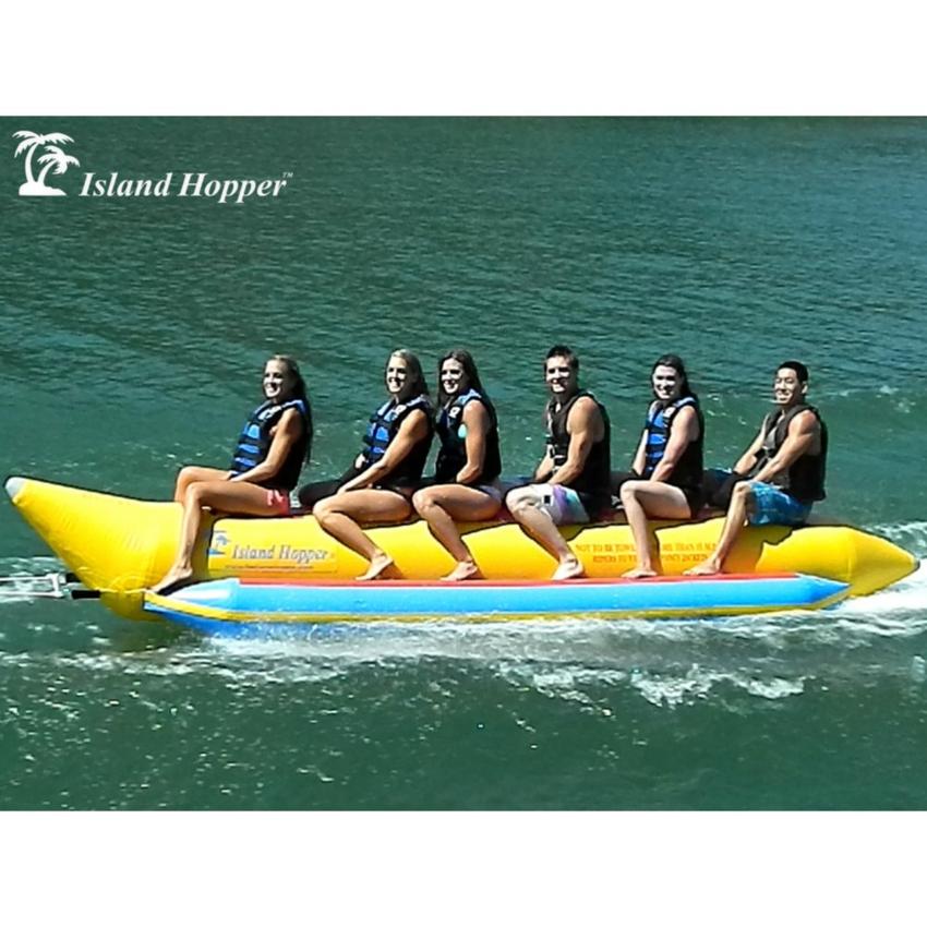 Island Hopper Commercial Banana Boat 6 Passenger Towable Tube 2016