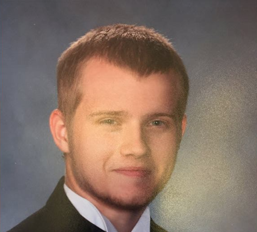 The high school photo of Timothy shared on Social Media.