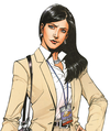 Lois Lane                              from the action comic series                               Superman comics