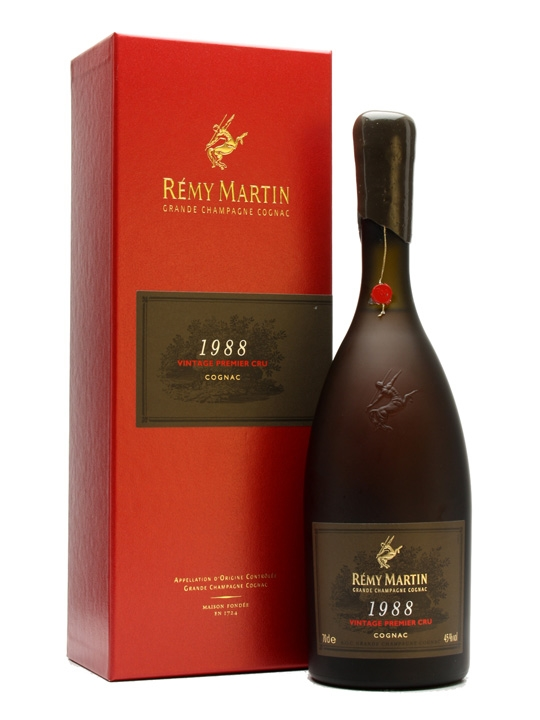 Remy Martin 1988 Vintage Premier Cru Cognac