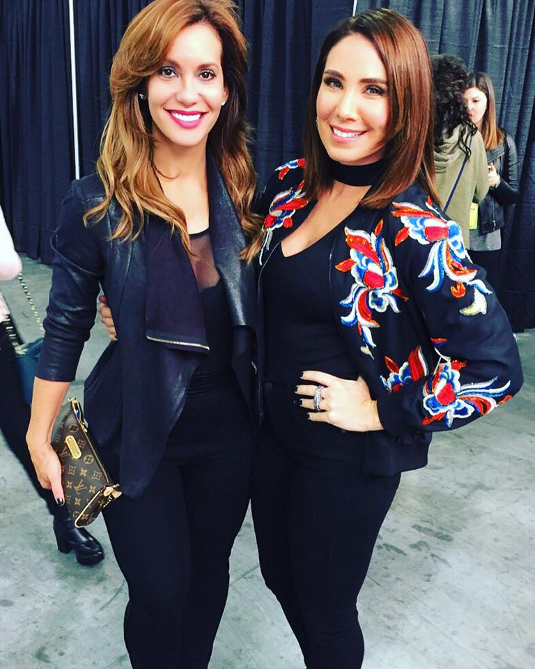 Liliana Ayende with laura posada