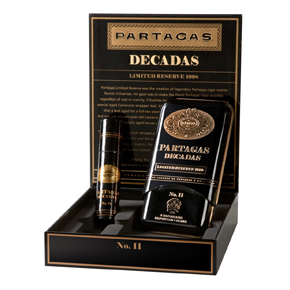 Cigar Samplers Partagas Decadas Limited Reserve 1998 Gift Set · 5.5 × 50