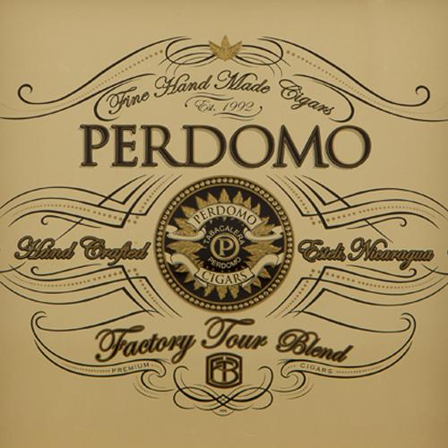 Perdomo Factory Tour Blend Connecticut Robusto · 5 × 52