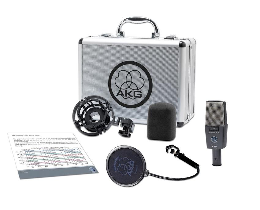 AKG C414 XLS - C 414 XLS 9 Pattern Mic - Will Beat Any Price on AKG C414XLS