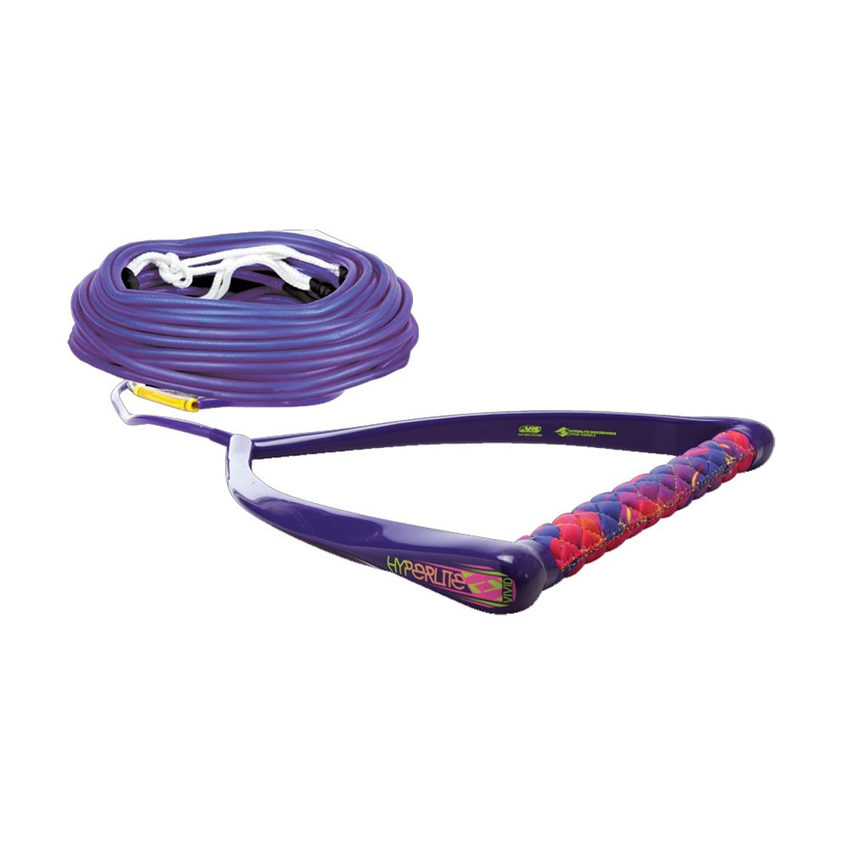 Hyperlite Chamois Handle with Fuse Wakeboard Rope 2016